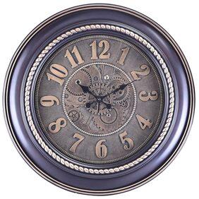 eCraftIndia Purple Wall Clock