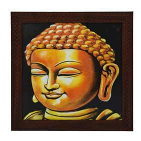 eCraftIndia Lord Buddha Design Framed Painting