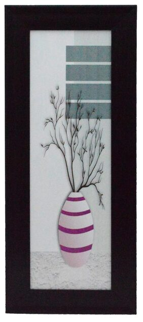 eCraftIndia Abstract Pot Design Framed Painting