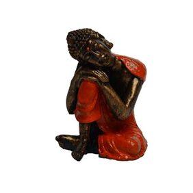 eCraftindia Polyresin Resting Buddha On Knee