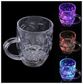 ED Flashing 7 Colour Changing Liquid Activated Mug Pack of 3