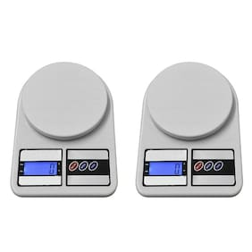 Editrix 10 Kg Digital Weighing Scale Weight Machine(Pack of 2)