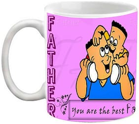 EFW The Best Father Express Your Love Ceramic Mug (325 ml)