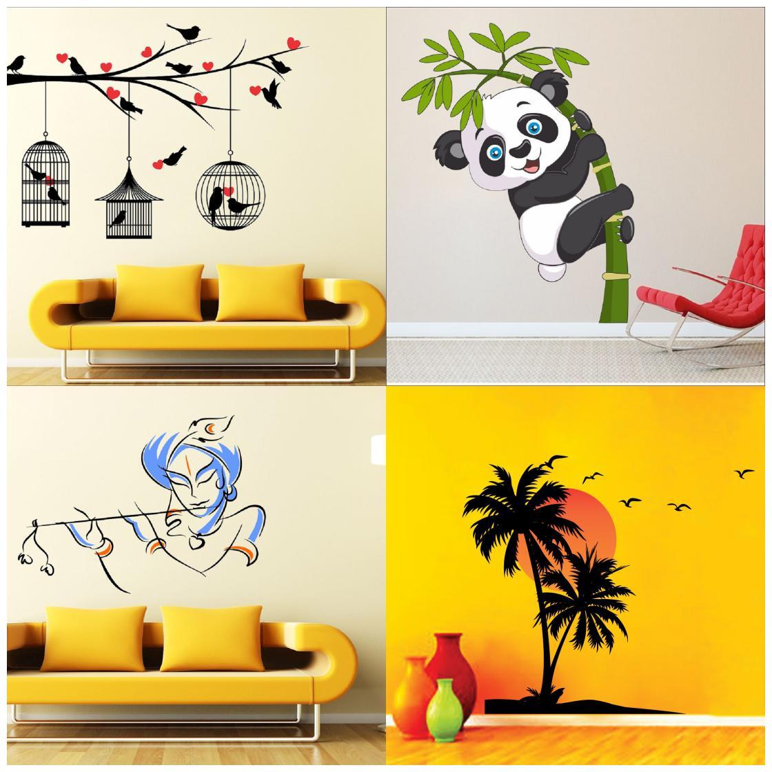 g637 Vinyl Wall Decal Tree Roots Brain Smart Creative Art Idea Stickers Mural
