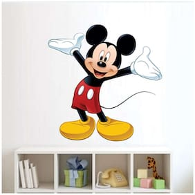 EJA Art cute mickey mouse Wall Sticker