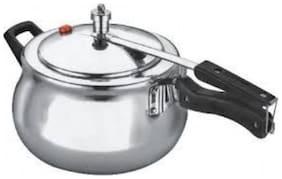 eKitchen Indus Polo Handi Inner Lid Aluminium Pressure Cooker 2 Ltr