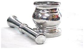 ekitchen Keshari Aluminium Khalbatta Or Ural Set-No.3
