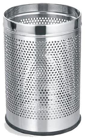 eKitchen Stainless Steel Perforated Bin - Small (7 * 10 inch)