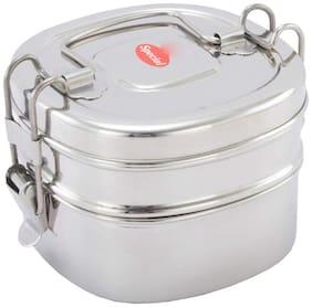 ekitchen Stainless Steel Lunch Box/Tiffin Box (2 Tier)