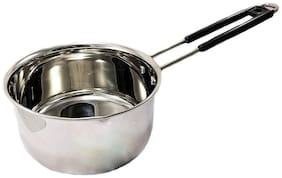 eKitchen Stainless Steel 1 mm Thickness  Sauce Pan 1 Litre