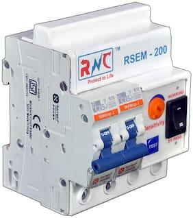 ELCB+MCB Moduler, 3-50 mAmp, 32 Amp