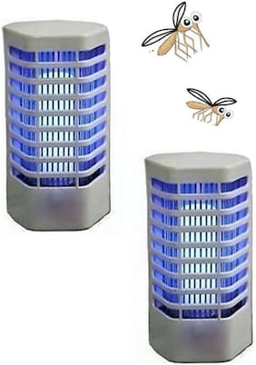 Electronic LED Night Lamp Cum Insect Killer - Pack of 2