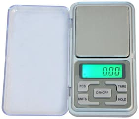 Electronic Pocket Scale - 200g (silver) Weighing Scale (Pack of 1)