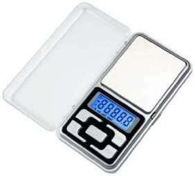 Electronic Pocket Scale MH Series 200gm Weighing Scale  (Silver) Weighing Scale (Pack of 1)