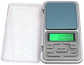 Electronics Solutions 0.1g to 200g Jwellary Weighing Scale (Silver) Weighing Scale (Pack of 1)