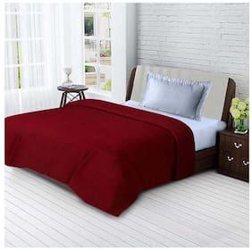 Ellonia All Seasons Single Bed Solid Polar Fleece Blankets For Mild Winter