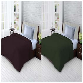 Ellonia Presents All Seasons Single Bed Solid Polar Fleece Blankets For Mild Winter
