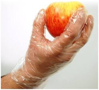 ELPH Large Transparent Disposable Gloves - 900 pcs