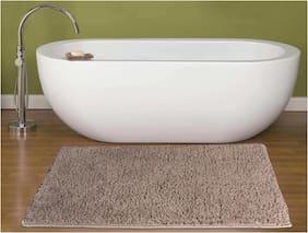 ENYRA Soft Microfiber Anti-Skid Bath Mat Gold (40cm x 60cm)