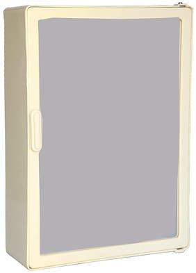 "Epraiser ABS Unbreakable Z-H Bathroom Full Mirror Single Door MINI Cabinet, Size:14""X4""X10"" (SMALL)"