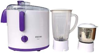 Equity PEARL 500 W Juicer Mixer Grinder ( Purple & White , 2 Jars )