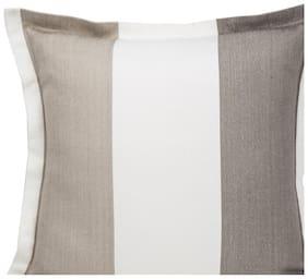 Maspar Ethereal Spaces Beige Regular Cushion Cover (1 Pc)
