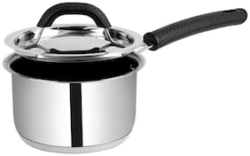 Ethical Classicart Stainless Steel Encapsulated Bottom Non-stick Sauce Pan with SS Lid Diameter 1.3 L / 16 cm