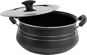Ethical Ethical Special Biryani Handi Non-Stick Aluminium With Ss Lid 20Cm-2.5Ltrs Handi 2.5 L With Lid (Aluminium;Non-Stick)