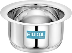 Ethical Fineart Stainless Steel Encapsulated Bottom Top 4.0 L