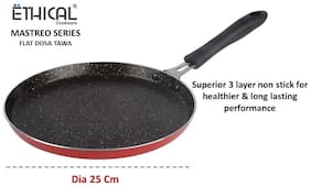Ethical Mastreo Series Non-Stick Dosa Tawa/Chapati Tawa/Multi Purpose Induction Tawa