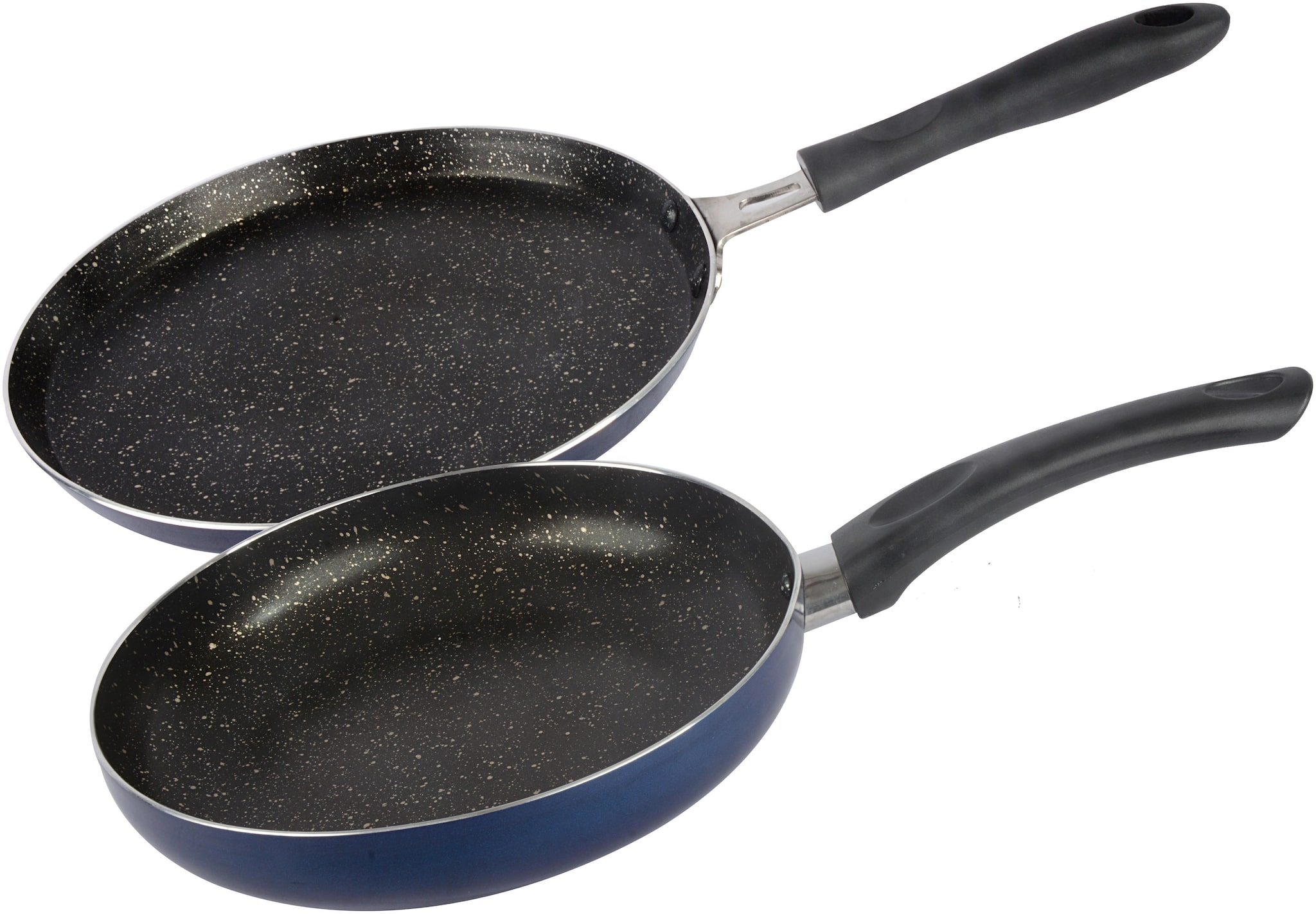 Ethical Mastreo Series without Induction Base Non Stick Dosa Tawa   Fry Pan cookware Set / 2 Pcs Cookware set.