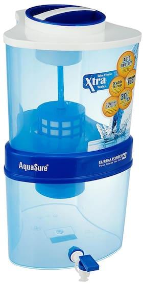 Eureka Forbes Aquasure from Aquaguard Xtra Tuff 15 L 4 Stage Purification Water Purifier (White & Blue)