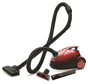 Eureka Forbes QUICK CLEAN DX Dry Vacuum Cleaner ( Red & Black )