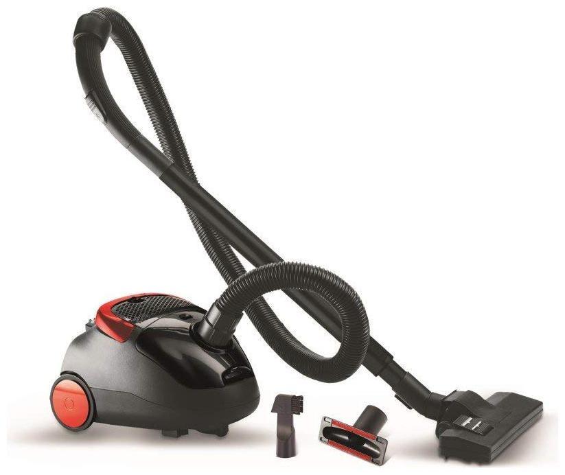 Eureka Forbes TRENDY ZIP Dry Vacuum Cleaner   Black   Red