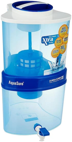 Eureka Forbes AQUASURE FROM AQUAGUARD XTRA TUFF 15 ltr Water Purifier - 4 stage purification