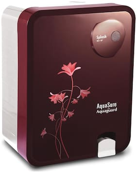 Eureka Forbes Aquasure from Aquaguard Splash 6 L RO+UV+MTDS  Water Purifier (Burgundy)
