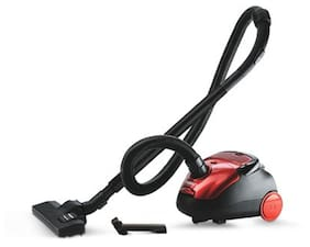 Eureka Forbes Trendy Nano Dry Vacuum Cleaner (Red & Black)