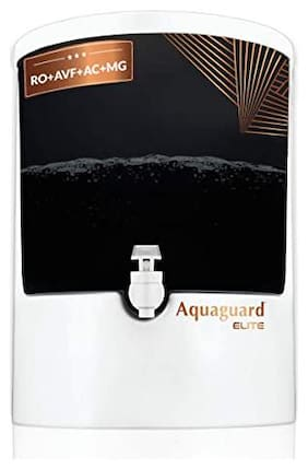 Eureka Forbes Aquaguard Elite RO+AVF+AC+MG (8L) water Purifier with Active Copper from Eureka Forbes (White)