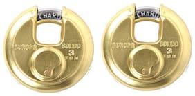 Europa Disc Pad Lock P-370 Tw Bi High Precision 11 Pin Dimple Key Technology