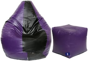 Euroshop Bean Bag With Puffy Cover L Without Beans