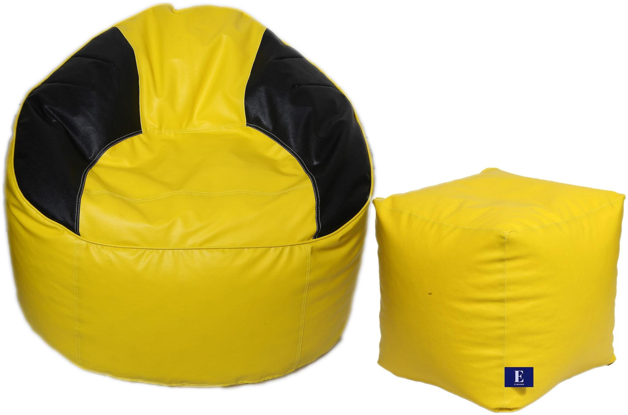 Euroshop Bean Bag Mudha With Puffy Cover Xxxl Without Beans by Maruti Fun Bags