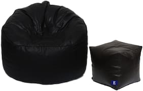 Euroshop Bean Bag Mudha With Puffy Cover Xxxl Without Beans