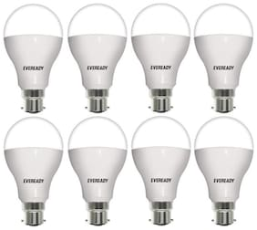 Eveready 12 Watt Cool Day Light LED Bulb - Pack Of 8