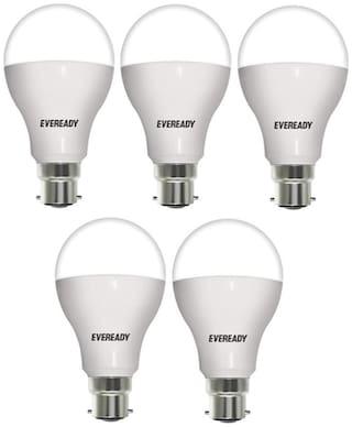 Eveready 12W-6500K Cool Day Light Led Bulb (Pack Of 5)