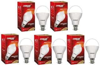 Eveready 14W-6500K Cool Day Light Pack of 5