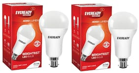Eveready 40W-6500K Cool Day Light Pack of 2