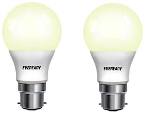 Eveready 5w B22D Golden yellow Pack of 2