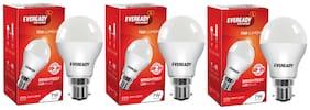 Eveready 7 W 6500K B22D LED Bulb (Pack of 3)