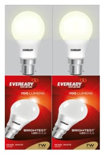 Eveready 7 Watt Pearl White Pack Of 2 Bulb