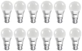 Eveready 7W-6500K Cool Day Light Pack of 10 with 2 Pc 7W Led Bulb Free